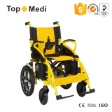 Rehabilitation Therapy Supplier TEW806D Folding Power Electric Wheelchair for Disable