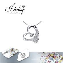 Destin bijoux cristal de Swarovski Collier pendentif bien-aimé
