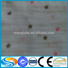 China supplier 100% cotton muslin swaddle blanket for baby