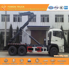 DONGFENG 6X4 18tons  hydraulic lifting garbage truck