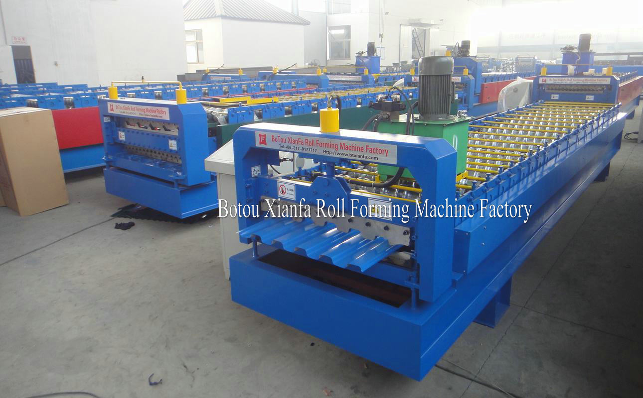IBR metal sheet roll forming machine