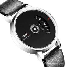 2016 Nouvelle Mode Montre En Cuir Hommes Horloge Montres Casual
