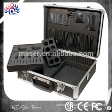 Tragbare Aluminium Tattoo Koffer / leere Tattoo Ausrüstung Fällen