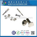 Taiwan Stainless Steel Excellent in Asia Tableware Chicago Screws Male and Female Rivet
