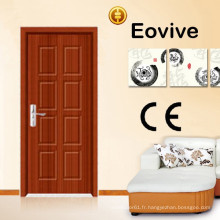 portes de chambre en bois intérieur salle de bains WC