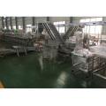 полуавтоматическое оборудование для розлива сардин в консервы