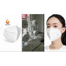 Máquina ultrasónica quirúrgica N95 para fabricar mascarillas