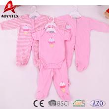 прекрасный унисекс с длинным рукавом детская одежда детская комбинезон
