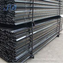 Окрашенные 2.04 кг/м черный Y забор пост для Австралии