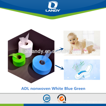 sanitary napkin raw material soft Hot Air Through Nonwoven ADL