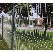 Pvc coated metal privacy fence