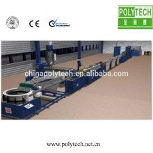 Produit épaisseur 1,0 0,2 mm CE certificat Machine tube plat plastique Aggricultural