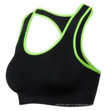 Sujetador deportivo para mujer Fitness Señoras Racerback Running Yoga Training