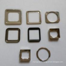 Accessoires pour téléphone portable en acier inoxydable 304
