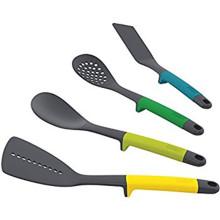 Outils de jeu d'ustensiles de cuisine en nylon 7pcs avec support