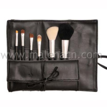 6PCS Portable Makeup Brush Cosmetic Brush with Natural Hair