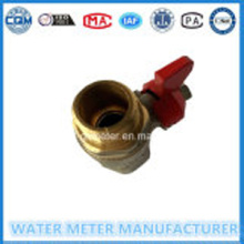 Messing Stop controle bal kleppen watermeters