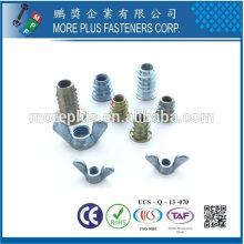 Taiwan Edelstahl 18-8 vernickelt Stahl Kupfer Messing Fastener Fertigung Zaun Befestigungen Möbel Befestigungsteile