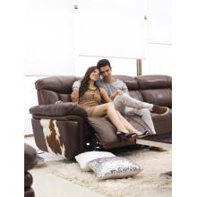 Sofá de salón con sofá moderno de cuero genuino (922)
