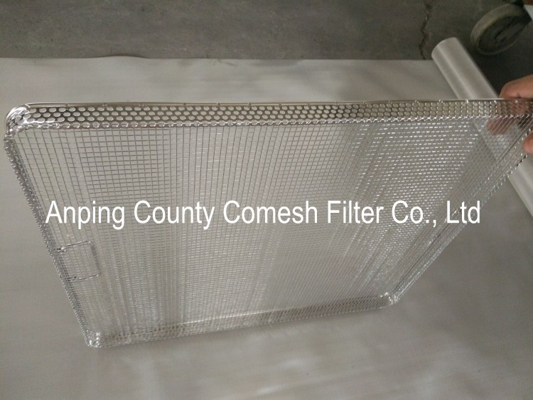 304 Stainless Steel Sterilization Perforated Trays