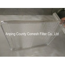 316 Stainless Steel Woven Wire Mesh Trays