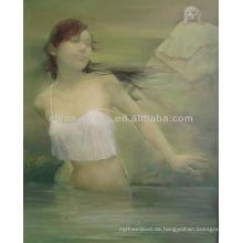 Ölmalerei von Nackt