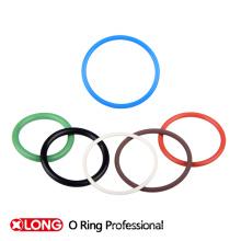 Verschiedene Farben Gummi O Ringe