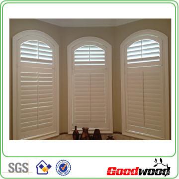 89mm Basswood Massivholz Plantagen Fensterläden Fenster (Sgd-S-6006)