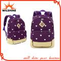 Sport Canvas Backpack Preppy School Bag Leasure Travel Bags (SB017)