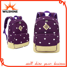 Sport Canvas Backpack Preppy School Bag Leasure Travel Bags (SB017)