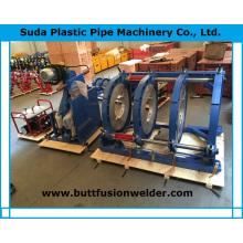 Machine de soudure bout à bout de tuyau de HD630h HDPE en plastique
