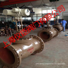 24 in Zrhm Globe Typeelectric Sleeve Control Valve