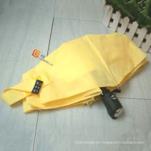 Automatische öffnen und schließen vier Falten-Regenschirm (YS-4F2002A)