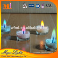 Fabricante directo no gotea velas de cera de palma respetuosas del medio ambiente