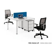 Moderne elegante Schulbüro-Gruppen-Melamin-Personal-Angestellt-Schreibtisch