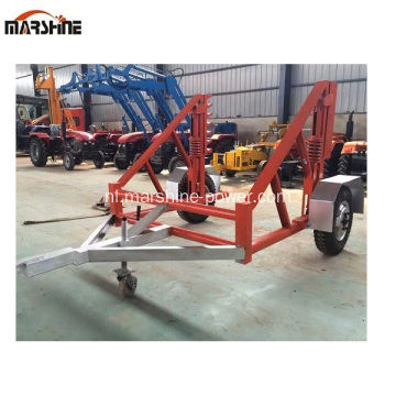 Single Reel Hydraulic Reel Trailer te koop
