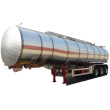 Liquefied Food Oil Transporting Tanker Trailer