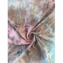 Tissu en maille Tie Dye DTY brossé