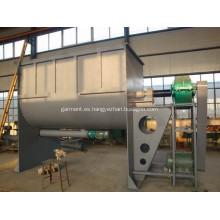 Mezclador de cinta de chorros ahuecados con función de enfriamiento de calefacción