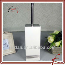 modern bathroom accessories ceramic toiletbrush holder