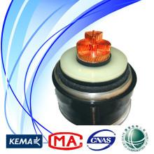 Cable de alimentación XLPE para proyecto de ingeniería civil