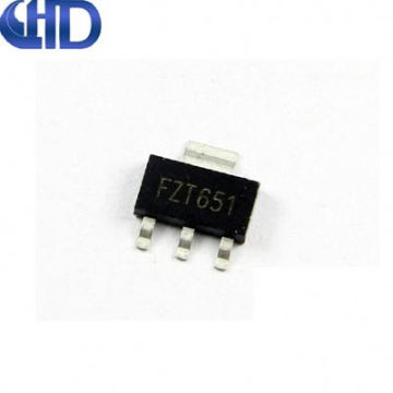 QHDQ3-- SMD transistor package SOT223 New IC FZT651