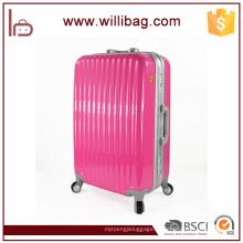 O trole durável do curso da qualidade superior ensaca a bagagem de alumínio da mala de viagem do quadro
