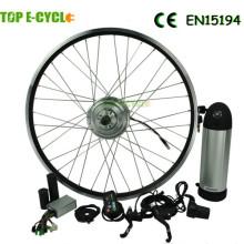 Heißer verkauf TOP DIY 250 Watt bürstenlosen nabenmotor elektrische umbausatz für fahrrad