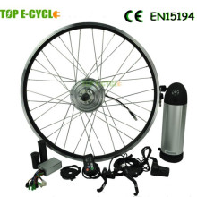 Hot venda TOP DIY 250 W brushless hub motor kit convension elétrica para bicicleta