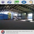Edifício de aço pré-fabricado para armazém de estrutura de aço