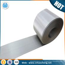 Las líneas de estiramiento de cinta SS 304 PE utilizan malla de alambre de tejido holandés inverso