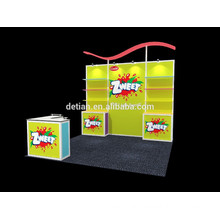 Shanghai portable backdrop display, customize exhibition booth stand