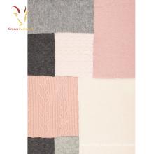 Wool Cashmere Knitting Blanket Nepal