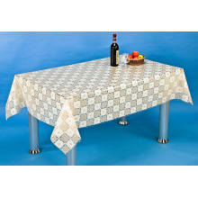 PVC Printed Tablecloth with Nt Pattern (NT0003B)